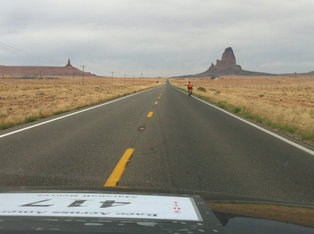 Marshall's been down this road before.  Monument Valley, Moab, UT. Photo courtesy of Daniel Curio.